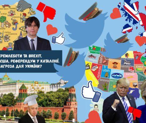"""""""Кремлеботи"""" як інструмент російського впливу в світі"""